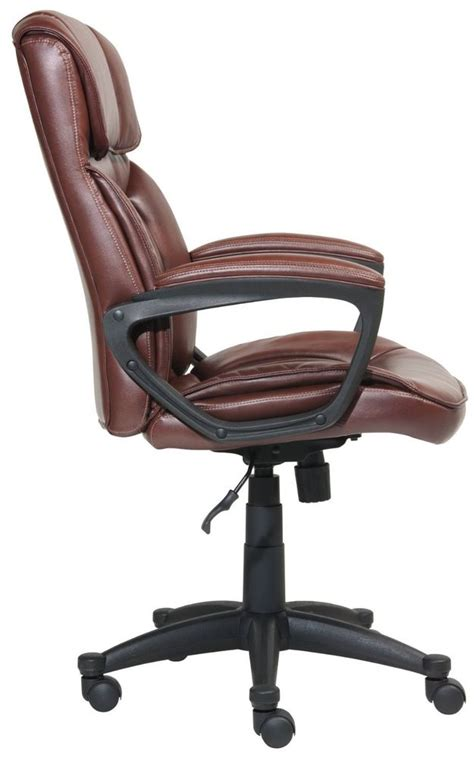 serta leather managers chair manager desk chair furniture leather executive serta