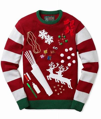 Sweater Christmas Ugly Sweaters Diy Holiday Tacky