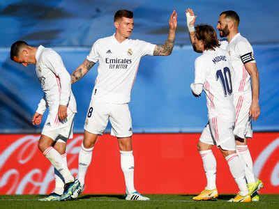 Zinedine Zidane urges Real Madrid players to score sooner ...
