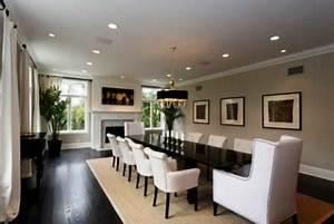 idee deco salon salle a manger deco maison moderne With meuble de salle a manger avec decoration interieur salle a manger salon