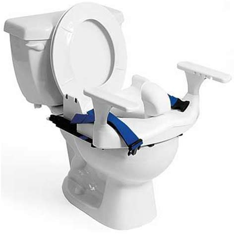 Rifton Bath Seat Large by Rifton Large Blue Wave Toilet Seat Go Left