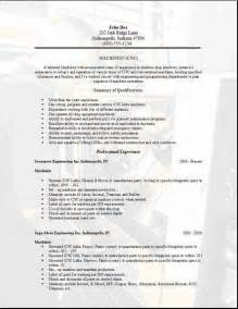 Cnc Machinist Resume Template Machinist Resume2 Pictures To Pin On
