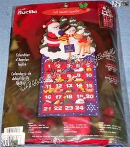 Happy 1 Advent : bucilla happy holidays advent calendar felt christmas kit ~ Haus.voiturepedia.club Haus und Dekorationen