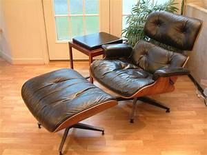 Eames Chair Lounge : mid century modern herman miller eames lounge chair ottoman erik buck buch table ebay ~ Buech-reservation.com Haus und Dekorationen