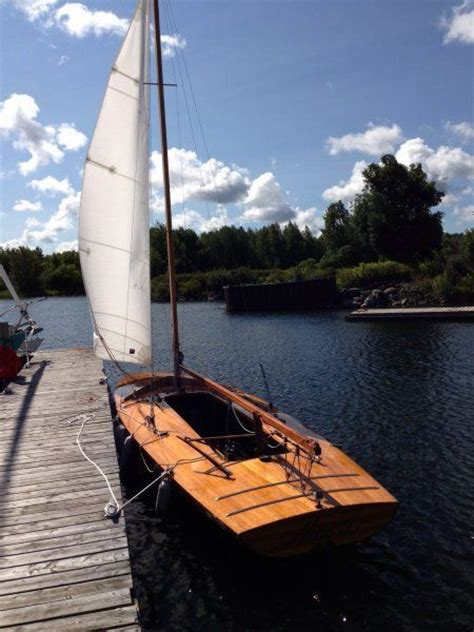 Scow Sailboat by Vic Carpenter Sailboat Wood Scow Scow