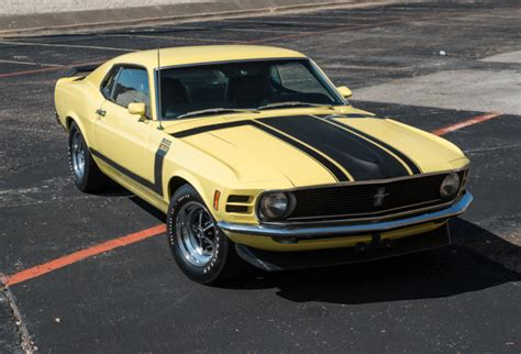 29k-mile 1970 Ford Mustang Boss 302 For Sale On Bat