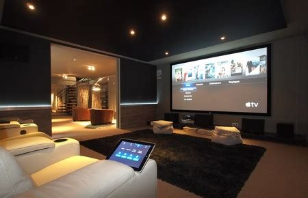salle de cinema maison installer une salle de cin 233 ma chez soi frenchimmo
