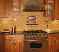 backsplash tile pictures Vineyard View Kitchen Tile Backsplash with grapes, vines ...