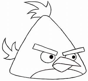 91+ [ Download Coloring Pages Birds Simple Angry Bird For ...