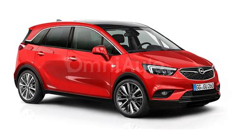 Opel Meriva by Opel Meriva Rendered And Spied Showing Interior
