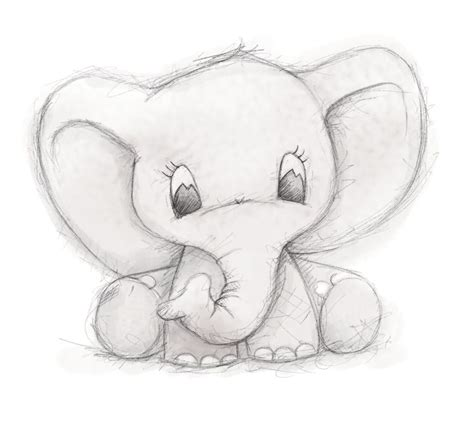 cute elephant  clare thompson drawings pinterest