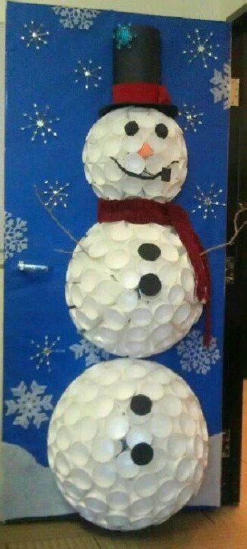 snowman door decorations decoration ideas for office that everyone will