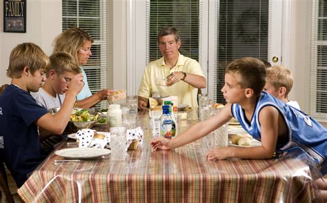 Family Dinner Not Considered Over Until Everyone's ...