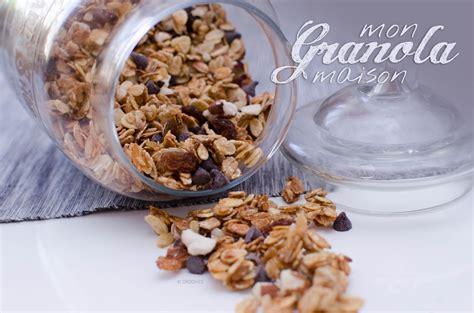 un granola ou muesli croquant maison light crookies