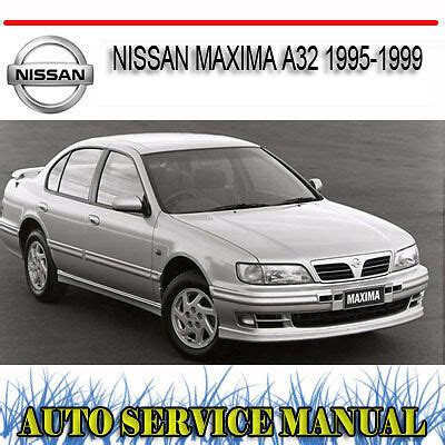 service and repair manuals 1999 nissan maxima interior lighting nissan maxima a32 1995 1999 repair service manual dvd ebay