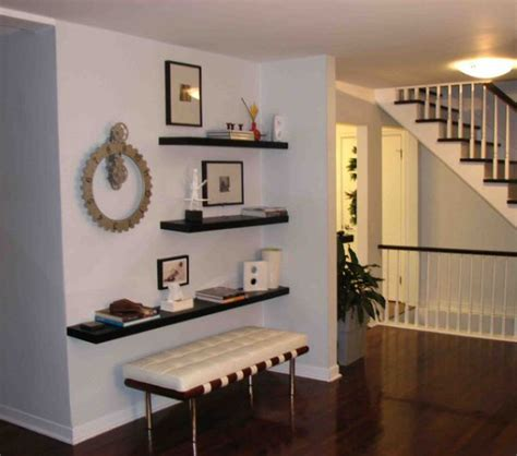 floating wall shelves decorating ideas simple functional and space saving floating wall shelving Floating Wall Shelves Decorating Ideas