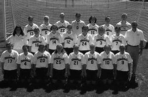 """1999-2000 Women's Soccer Team"" by Cedarville College"