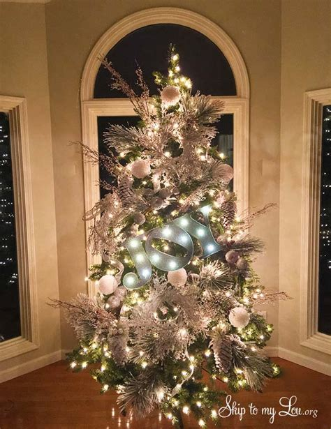 beautiful christmas trees skip   lou