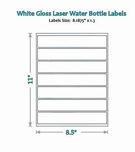 49 blank water bottle label glossy wrappers party new With blank water bottle labels waterproof