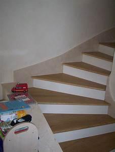 Marche D Escalier En Chene : parquet marches d 39 escalier en ch ne massif ~ Melissatoandfro.com Idées de Décoration