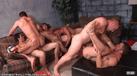 tumblr gay men thrusting orgy cumception