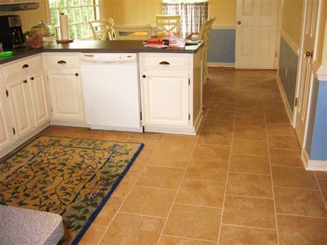 hit kitchen remodel simple brown ceramic tile flooring