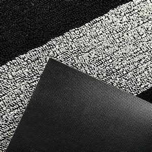Grand Tapis Blanc : acheter chilewich grand tapis toison rayure noir blanc amara ~ Teatrodelosmanantiales.com Idées de Décoration