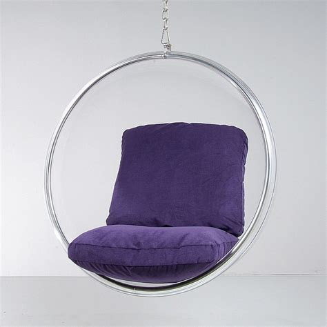 aarnio chair hanging transparent acrylic