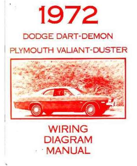 Dodge Dart Plymouth Duster Valiant Wiring Diagrams