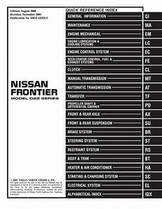 Nissan Refrigerant And Oil Capacity Charts
