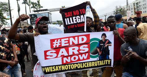 SARS: Why are tens of thousands of Nigerians protesting ...