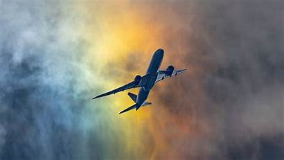 Airplane Flight Clouds 4k Sky Shroud Uhd