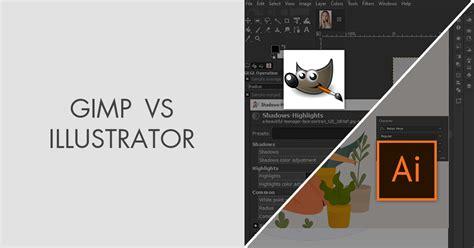 gimp  illustrator  software