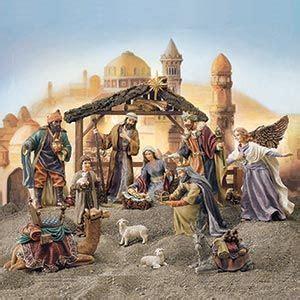 kirkland signature  piece nativity set nativities