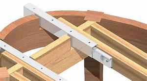 Table Rallonge Bois : une table ronde rallonge papillon bois le bouvet ~ Teatrodelosmanantiales.com Idées de Décoration