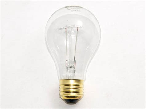 bulbrite 40w 130v clear ceiling fan or appliance bulb