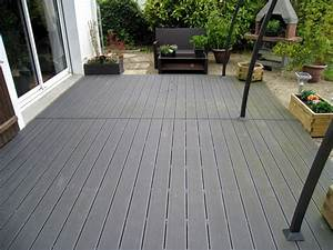 Terrasse En Bois Composite Prix : lames terrasse castorama comment installer les lames de ~ Edinachiropracticcenter.com Idées de Décoration