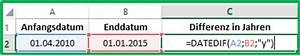 Differenz Berechnen : excel datum differenz mit der funktion datedif berechnen ~ Themetempest.com Abrechnung