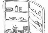 Clipart Fridge Drawing Refrigerator Cartoon Fridg Nothing Parenting Drawings Yourself Health Paintingvalley sketch template