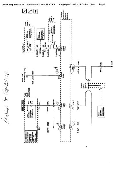 Wiring Diagram 2001 S10 Zr2 by 2001 Zr2 4wd Problems S 10 Forum