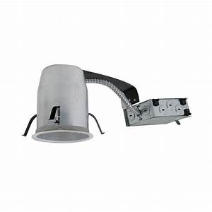 4 in led remodel recessed lighting kit : Halo h in aluminum led recessed lighting housing for
