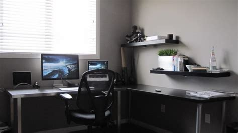 2011 ikea corner workspace for small office design ideas