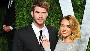 Miley Cyrus And Liam Hemsworth Pack On The PDA At Music ...