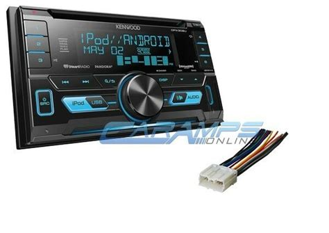 install aux in car kenwood din car stereo radio w install parts