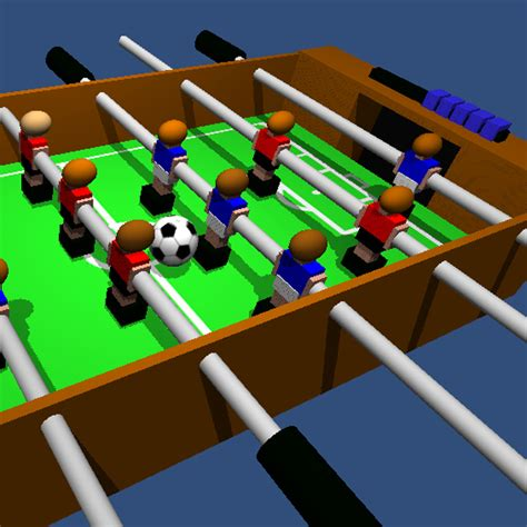 multiplayer table football   player