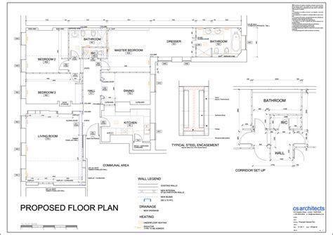 interior design business plan set 2d autocad danuta rzewuska