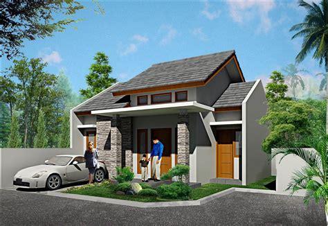 contoh desain atap rumah minimalis modern  lantai