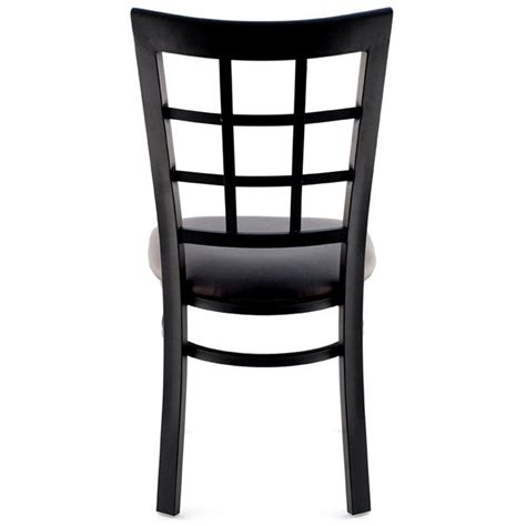 window chair furniture window back metal restaurant chair