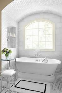 21, Victorian, Black, And, White, Bathroom, Floor, Tiles, Ideas