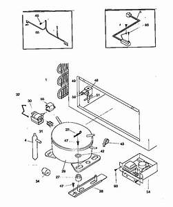 Kenmore 2539183511 Chest Freezer Parts